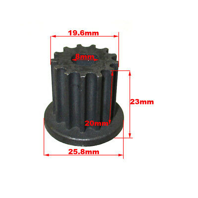 13 Tooth Gear Pinion Sprocket Belt Pulley For Scooter Electric Motor
