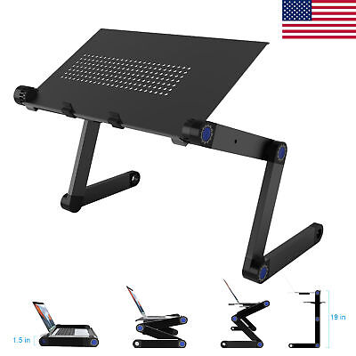 Adjustable Laptop Stand Desk Bed Laptop Riser Tablet Al Holder Notebook Tray US