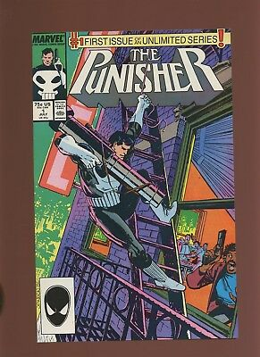 Punisher 1 NM 9.4 * 1 Book Lot * 1st On-Going Series! Mike Baron & Klaus Janson!