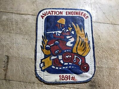 WWII/WW2/Post? US AIR FORCE 1891st AVIATION ENGINEERS-ORIGINAL BEAUTY! USAF