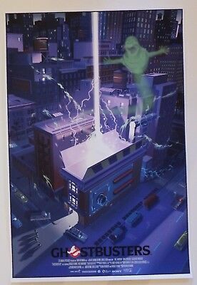 Ghostbusters by Laurent Durieux, Mondo print. 24x36 Edition of 375