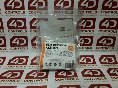 Sprecher + Schuh LA7-P-22 Auxiliary Contact - New Surplus Sealed