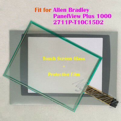 Touch Screen Panel + Film for Allen Bradley PanelView Plus 1000 2711P-T10C15D2