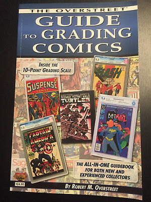The Overstreet Guide to Grading Comics (2016 Edition - New) [Comic Books]