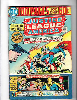 Justice League of America #114 7.5 VF- 100 Page Giant DC 1974
