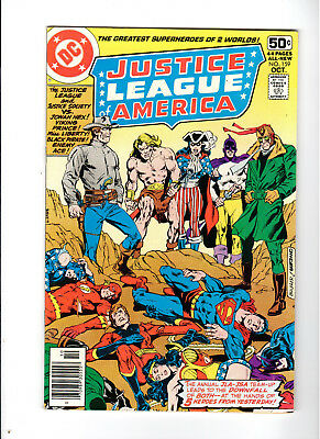 Justice League of America #159 8.5 VF+ 1978