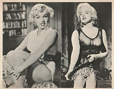 Vintage MARILYN MONROE Publicity PHOTO Double Images 10in x 8in Vintage