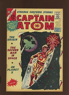 Captain Atom 75 FN+ 6.5 * 1 Book Lot * Origin of Captain Atom! Steve Ditko!