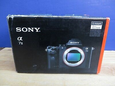 Mint * Sony Alpha a7 II  ILCE-7M2 Digital Camera  24.3mp  w/  Box * L@@K *