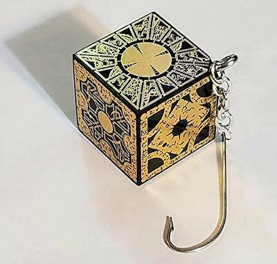 Hellraiser Puzzle Box Christmas Ornament Xmas Tree Decoration Cube Foil Face NEW