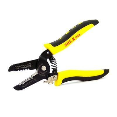 Multifunctional Handle Cable Wire Stripper Stripping Cutter Cutting Pliers WT