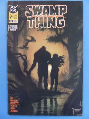 SWAMP THING 64 Alan Moore