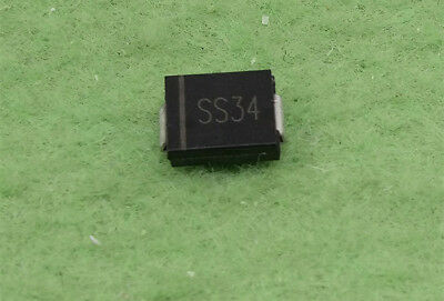 50pcs SS34 SK34 SMD Schottky Diode 1N5822 Type C 3A/40V