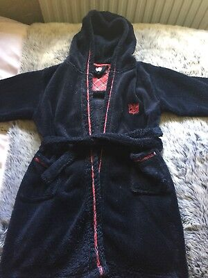 boys dressing gown 7-8