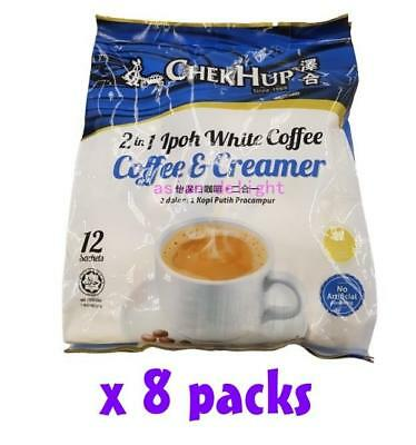 Chek Hup Malaysia 2 in 1 Instant Premix Ipoh White Coffee ( 30g x 96 sachets )