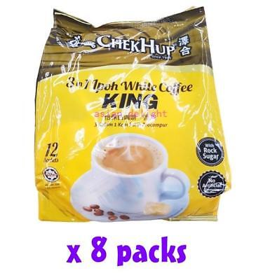 Chek Hup Malaysia 3 in 1 Instant Ipoh White Coffee King ( 40g x 96 sachets )
