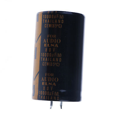 10000uf 80v audio top power electrolytic filter capacitor 30x60mm UQ HH