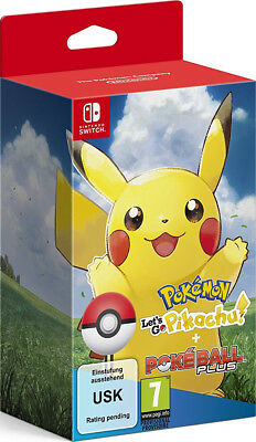 Pokemon Poké Ball Plus - Gioco Nintendo Switch Pokemon Let's Go Pikachu Nuovo