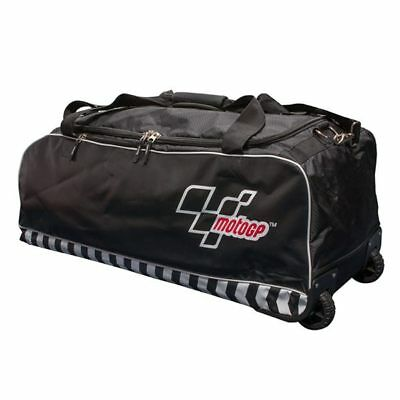 MotoGP Motorcycle Motorbike Black Kit and Helmet Trolley Bag