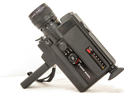 CANON 514XL f/1.4 super8 movie camera Good Condition + case & FREE SHIPPING