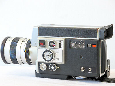 Canon 814 Electronic Super8 movie camera Good Working Tested Condition FREE SHIP