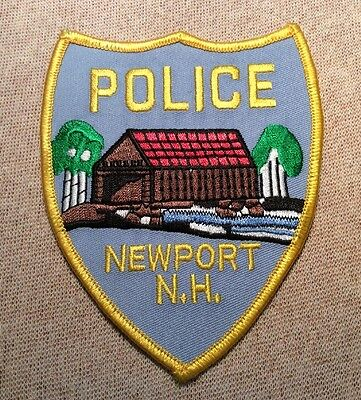 NH Newport New Hampshire Police Patch