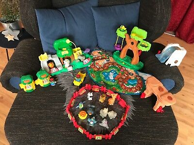 Little People Fisher Price Zoo Paket ABC mit Sprachfunktion