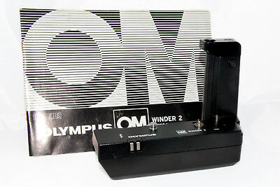 Olympus OM Winder 2 with Instruction Book