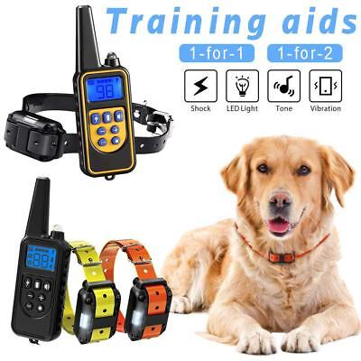 Dog Remote Trainers Rechargeable Dog Training Collar Vibrate Electronic Collar