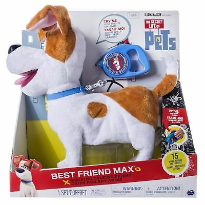 The Secret Life of Pets Walking Talking Pet Figure Best Friend MAX