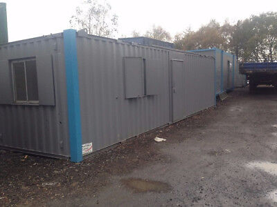 24 x 9 Anti-Vandal Open Plan office/ Container / Portable cabin