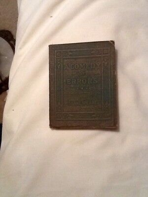 Little Leather Books A Comedy Of Errors By Shakespeare