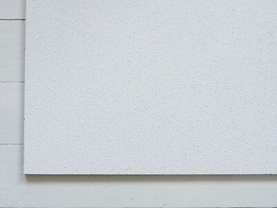 White Suspended Ceiling Tiles X8 Square 595x595mm 600x600 NEXT DAY DELIVERY