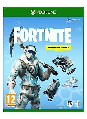 NEW & SEALED! Fortnite Deep Freeze Bundle Microsoft XBox One