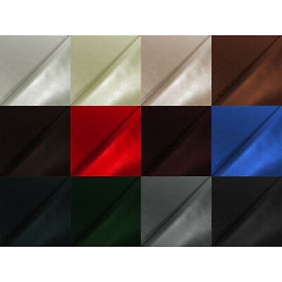 Faux Leather Vinyl Leatherette Cloth Soft Fabric Upholstery FIRE RETARDANT