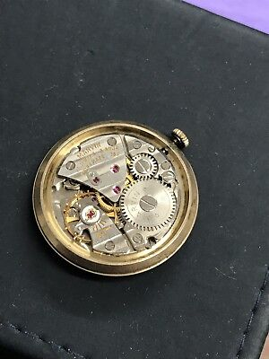 Marvin 752 Gents Watch Movement - Ticking Well - Watchmakers