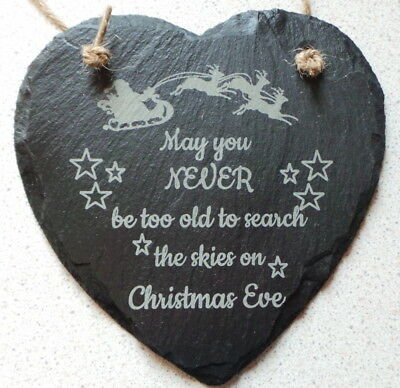 May you never be too old to search the skies on Christmas Eve _ Slate Heart