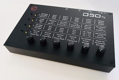 Roland D50 pg Controller by Volt Crafty Devices
