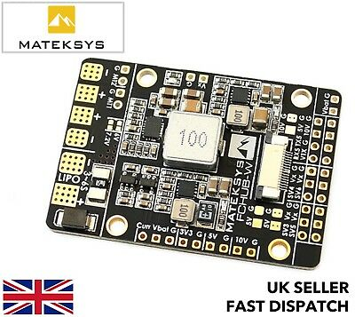 Matek FCHUB-W PDB for fixed wings 4x BEC current sensor power distribution board