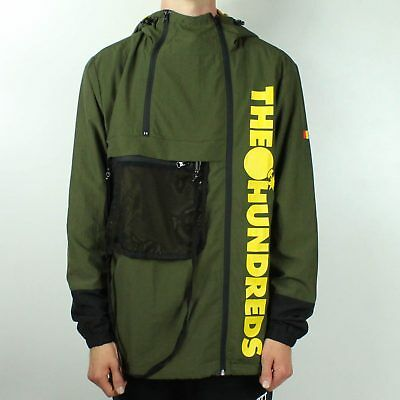 New The Hundreds Watchtower Jacket in Khaki