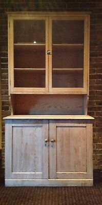 Antique Pine Dresses Glass Doors