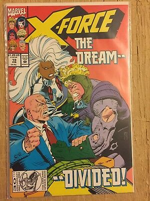 X-Force #19 1St Appearance Of Vanessa Copycat (Deadpool's Girlfriend) Marvel Nm
