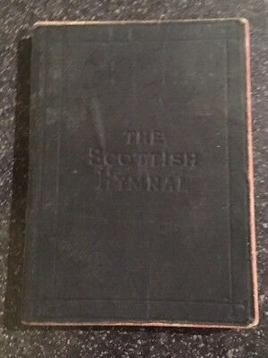 Antique Book The Scottish Hymnal 1880 : Church Of Scotland