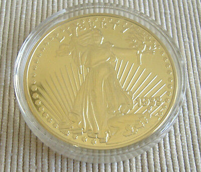 USA: 20 Dollar 1933, Gold Eagle / Liberty, NP 2003, vergoldet !!