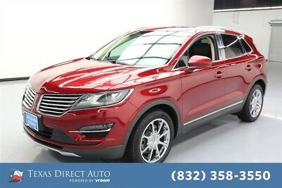 2015 Lincoln MKC  Texas Direct Auto 2015 Used Turbo 2.3L I4 16V Automatic AWD SUV Moonroof Premium