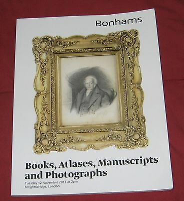 Bonhams Books, Atlases, Manuscripts and Photographs. 12 November 2013 Coleridge