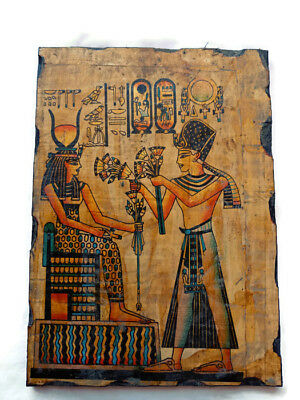 Egyptian Antiques Isis And Osiris Relief Ancient Egyptian Civilisation Wall Art