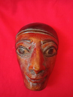 Egyptian Ancient Mask of Mummy of Pharaoh figurine