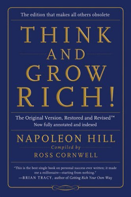 Hill Napoleon/ Cornwell Ros...-Think And Grow Rich! BOOK NUEVO