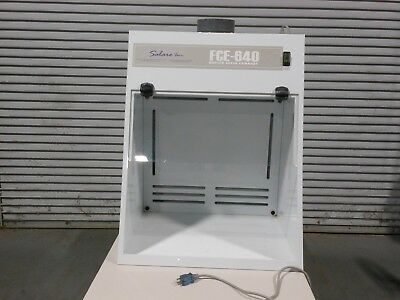 Salare Inc Fume Hood Ducted Total Exhaust With Light & Hinged Sash - Used